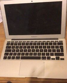 2013 macbook air, 11inch. great condition (small scratch on trackpad)