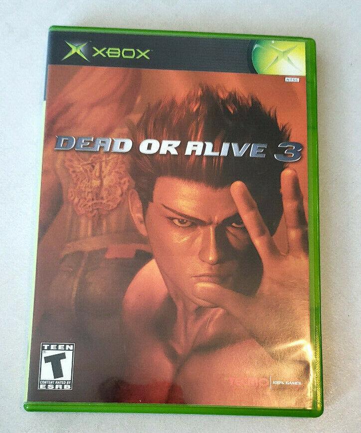 Dead Or Alive 3 Xbox Original Good Condition  - $3.99