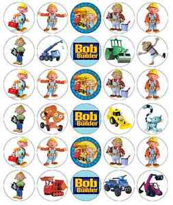 Bob The Builder Cake Toppers Uk