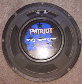 "Eminence Patriot - The Copperhead - 10"" Guitar Speaker 10 inch 8ohm - USA Version"
