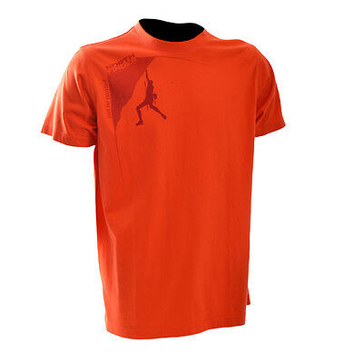 NorthFinder Mens Jackson T-Shirt XL Orange box74 76 B