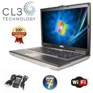 DELL Laptop Latitude Computer Windows 7 Pro Core Duo DVD WiFi Notebook + HD