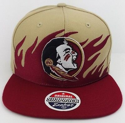 Florida State Seminoles zephyr snap-back /cap/hat/NHL/Collegiate/Flame (Flame Snap Cap)