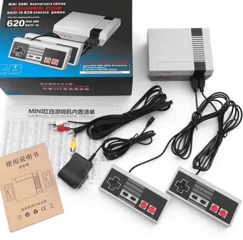 NES Mini Classic Retro Gaming Console w/ 620 Nintendo Games Anniversary Edition
