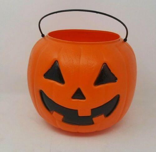 Halloween Pumpkin Candy Bucket - Orange