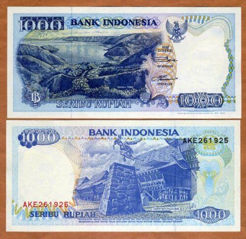 Indonesia, 1000 Rupiah, 1992, P-129, UNC > Stone jumping