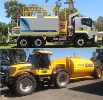 WATER CARTS FOR DRY HIRE