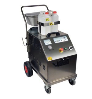 Commercial/Industrial Steam Cleaner for hire. 9 kW 3 phase.