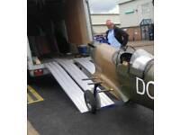 1.5-3 mt / 5-10ft 1000kg lightweight aluminium loading ramps suit small plant digger motorbikes