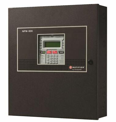 New Notifier Nfw-50x Intelligent Addressable Fire Alarm Control Panel Black