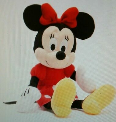"""NWT 15"""" Disney Minnie Mouse Plush Doll - Stuffed Toy Authentic Licensed- RED"""