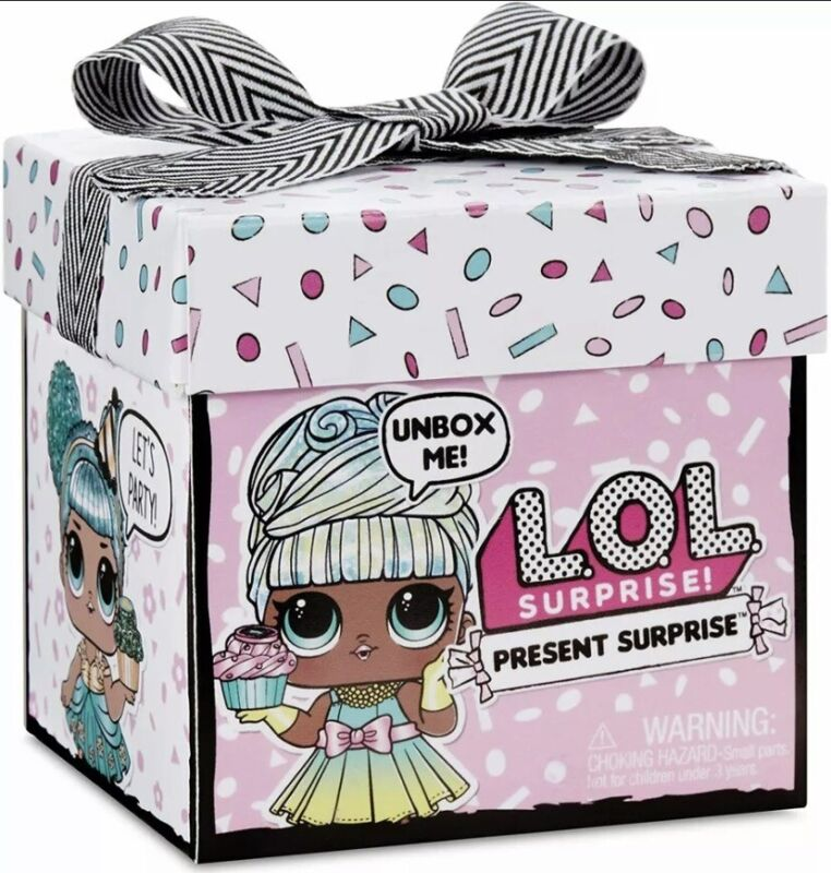MGA LOL Surprise! Present Surprise Doll with 8 Surprises Birthday Month Dolls