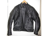 GearX Genuine Leather Motorcycle Jacket - Brand New!