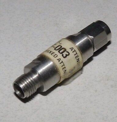 Jfw Industries 50f-003 3db Rf Coaxial Fixed Attenuator