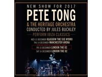 Pete Tong Ibiza Classics at London 02. 8 seated tickets