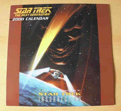 Star Trek: Der Aufstand  Kalender von 2000 für Sammler – Poster