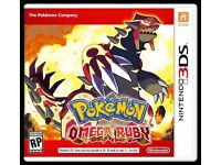 Trading Pokemon Omega Ruby for Pokemon Y