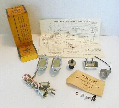 NOS GM Courtesy Lamp Kit GM 983328, EARLY OLDSMOBILES