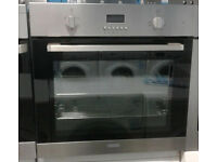 o651 stainless steel lamona single electric oven comes with warranty can be delivered or collected