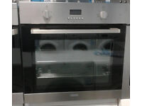 m651 stainless steel lamona single electric oven comes with warranty can be delivered or collected