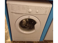 B376 white indesit 5kg 1100spin A rated washing machine comes with warranty can be delivered