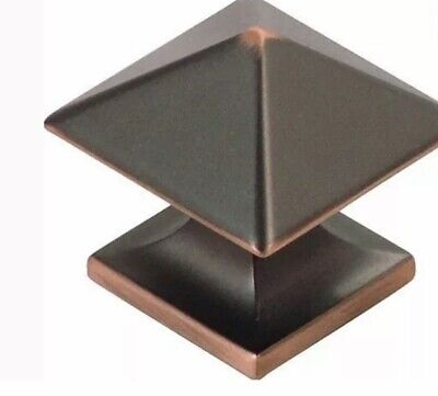 Hickory Hardware Studio Collection Cabinet Knob Oil-Rubbed Bronze 1-1/4