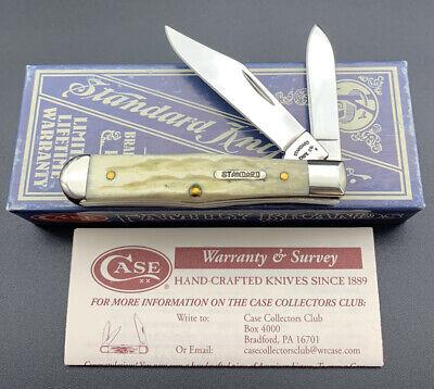 Case XX Standard Knife Co 6225 1/2 SS 2009 Jigged Bone 2 Blade Coke Bottle Knife