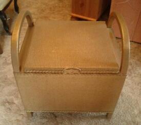 Lloyd Loom style commode/seat