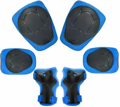 Kids Protective Gear Set, Knee + Elbow Pads Wrist Guards Toddler Multi-Sports