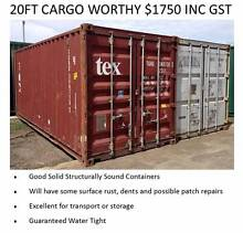Shipping Containers 20FT 40FT Many Options Available Ex Melb Port Melbourne Port Phillip Preview