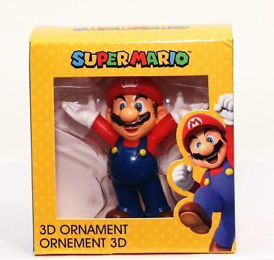 NEW Official Nintendo Super Mario 3D Christmas Ornament Gamestop Exc. Damage Box