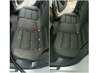Professional mobile car interior valet cleaning