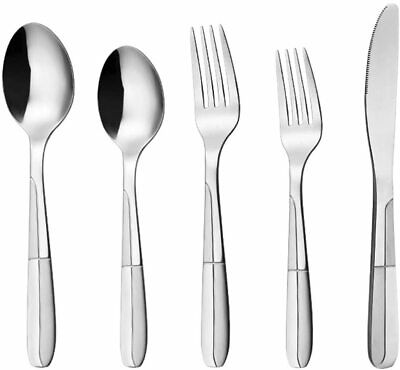 INCH 20 Pcs Silverware Set for 4 Person Kitchen Cutlery Utensil, Stainless Steel