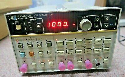 Hp 3314a Programmable 20 Mhz Function Generator Pre-owned W Free Shipping