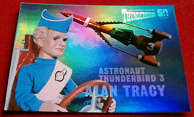 THUNDERBIRDS 50 YEARS - FOIL CHASE CARD - F5 - ALAN TRACY - Unstoppable Cards
