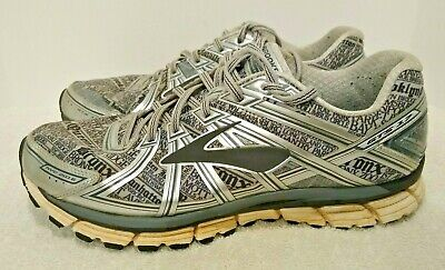 RARE Brooks Adrenaline GTS 17 New York City Gray Lady Edition Shoes Mens Size 11