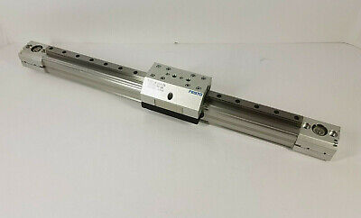 Festo Dge-18-203-zr-lv-rk-kf-gk Toothed Belt Linear Slide Rail With Block