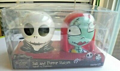 Funko Disney Nightmare Before Christmas Salt And Pepper Shakers Jack And (Nightmare Before Christmas Salt And Pepper Shakers)