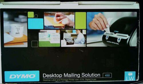 Dymo 450 DeskTop Mailing Solution Label Printer and Digital Scale