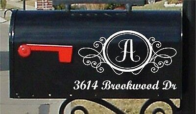 American Home Decoration Elegant Mailbox Sticker Mailbox Numbers Custom Mailbox Stickers Numbers & Street Home Decor Country Style