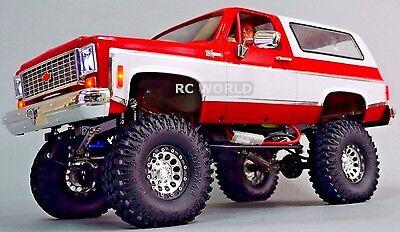 1/10 RC CUSTOM All Metal CHEVY BLAZER K5 RC Truck 2-SPEED 4WD + ENGINE SOUNDS