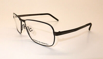 Porsche Design P 8303 B Men Eyewear Optical Frame DEMO Lenses Dark Brown Z7/16