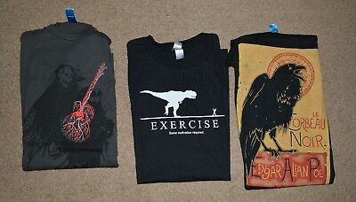 Unworn Shirt Woot  Shirt Woot Graphic T Shirt Mens Small Lot Of 3  Pop Culture