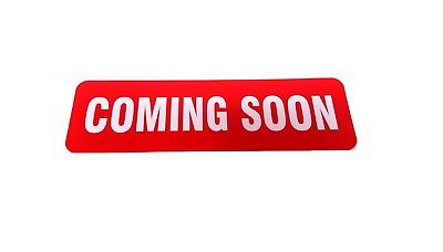 Coming Soon Magnetic Real Estate Sign Rider For Yard Sign