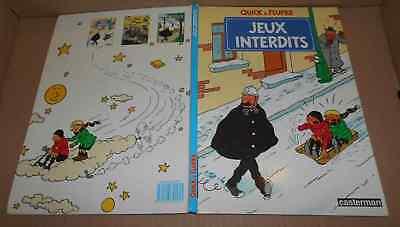 Vieille Bd 1985 Quick et Flupke Jeux interdits Herge (aut. Tintin)