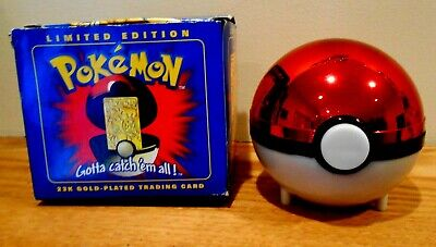 Burger King Pokemon Limited Edition 23K Gold-Plated Charizard Trading Card