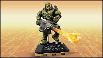 Halo Mega Construx Blöcke Master Chief Marke VI Rüstung Figur Heroes Serie 5 ()