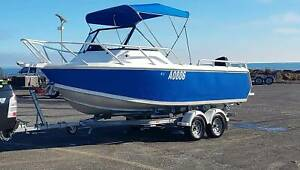 20ft custom aluminium fishing boat