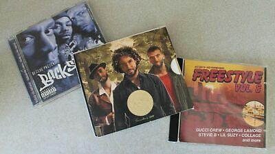 3 CD's Freundeskreis Esperanto, DJ Clue Backstage, Freestyle Vol.8 - Gucci Crew ()