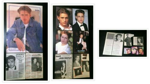 Jason Priestley MAGAZINE CLIPPINGS Pin-Up Articles Beverly Hills 90210